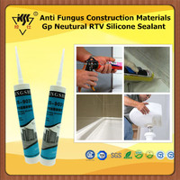 Anti Fungus Construction Materials Neutural RTV GP Silicone Sealant