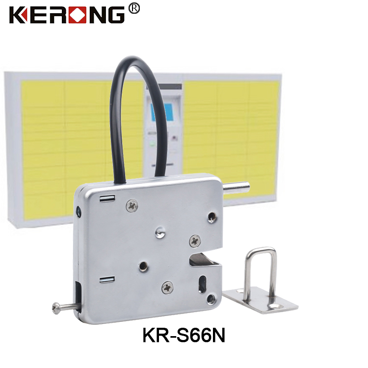 Electronic Solenoid Vending Machine Stainless Steel Locker Lock