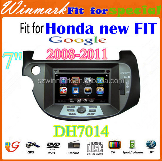 DH7014 wince 6.0 car dvd player for Honda NEW FIT 2009~2011