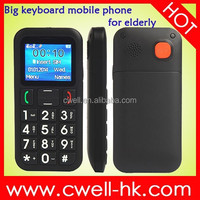 Large Button Dual SIM Senior Mobile Phone with Cradle, Torch, FM Radio PS-V702