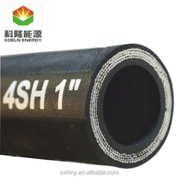 EN SAE DIN Heat resistant high pressure hose for fuel delivery