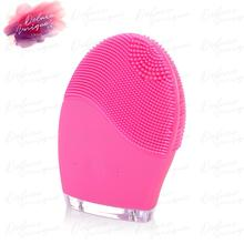 high quality electric brush Electronic silicone cleaning brush facial cleansing brush