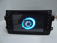 Double din car dvd gps navigation for suzuki sx4 with 7388IC
