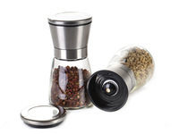 150ml commercial glass bottle mill industrial dry spice grinder