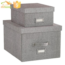 Hottest pattern collapsible foldable fabric storage cube box