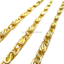Fashion High Quality Gold Metal Chain For Bag Handle Purse Chain