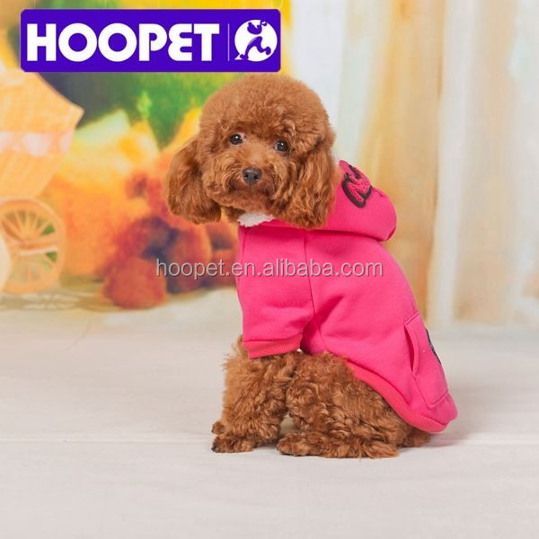 HOOPET winter hoodie dog clothes design your own dog clothes
