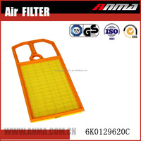 Anma auto hepa compress air filter In China 6K0129620C