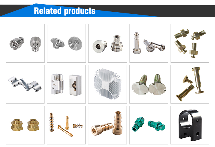 China OEM Top precision brass cnc welding machine parts