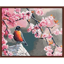 Bird of hope Framless New arrival unique gift Digital Oil Painting On Canvas painting by numbers decorative <strong>picture</strong>