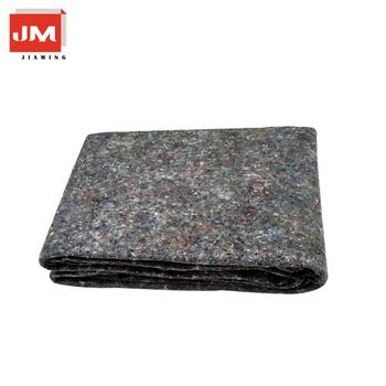 Nonwoven felt floor protection mat