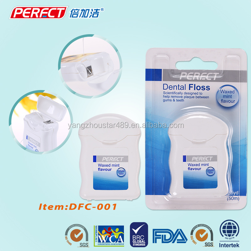 Perfect teeth cleaning tools dental flosser waxed floss pick