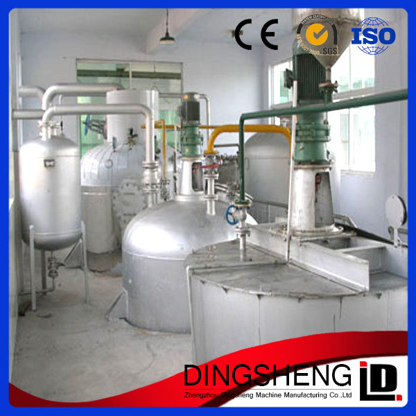 3T-5000TPD used cooking oil manufacturing machine with extraction machine