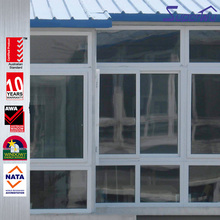 China supplier with lock sliding glass pvc window