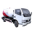 dongfeng 4x2 5500liters euro3 mobile mini lpg truck for filling gas