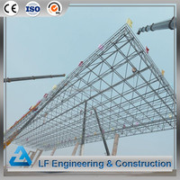 Structural system industrial prefabricated steel roof truss design