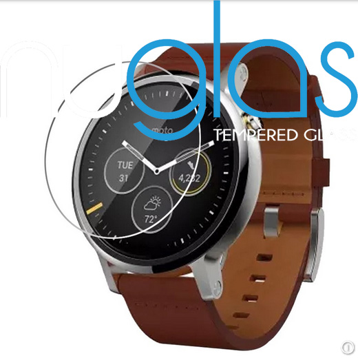 many stock anti shock screen protector for Moto 360 sport watch screen protector