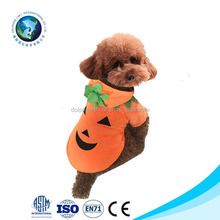 Halloween Pet Apparel Pumpkin Cosplay Costume For Dog Christmas Pet Clothes