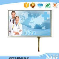 7inch LCD display with Capacitive touch screen transparent lcd module use for Medical instruments