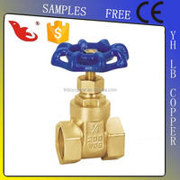 LB-Guten Top full port forge brass gate valve manufacturer with CE certificate china supplier pn16 rsing stem gate valve