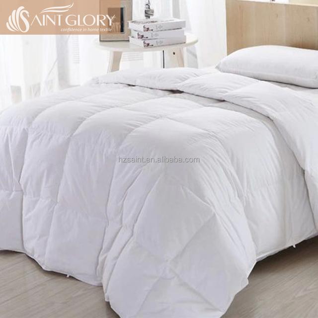 All Season 100% Cotton 700 Fill Power European Down Comforter Duvet Insert Duck Down Quilt