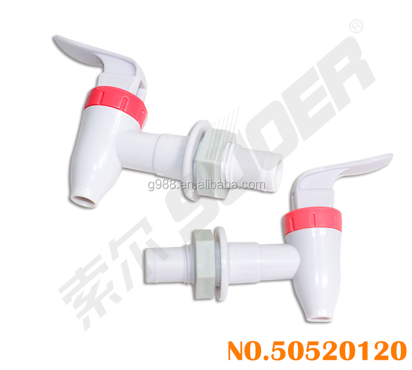 Suoer Good Quality Plastic Water Dispenser Tap with CE & RoHs