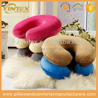 100% Polyurethane Visco Elastic Memory Foam Travel Pillow