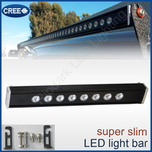 100% most demanded led light bar with bracket mounts no radio interfence white amber 4x4 50Inch single row led light bar 7.5Inch