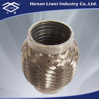 Flexible Stainless Steel Exhaust Gas Pipe Bellows Expansion Joint