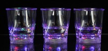cube shining night entertainment venue whiskey and spirit led cups