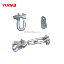 Hot Selling Electric Power Hardware Galvanized Steel U Shackle/Clevis