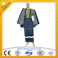 4 layers heat retardant aramid fire suit/fire fighting clothing/wholesale fire retardant clothing