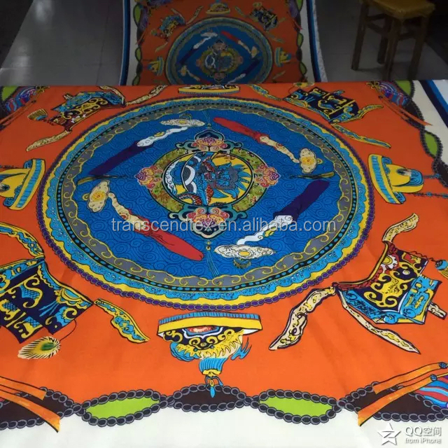 High quality OEM printed silk scarf manufacturer in china