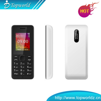 Low Price China Mobile Phone OEM 1.77 inch 128*160 Quad band China mobile phone Spreadtrum(32+32) Dual SIM 107 with bluetooth FM