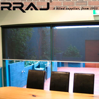 RRAJ Office Motorized Roller Curtains and Blinds