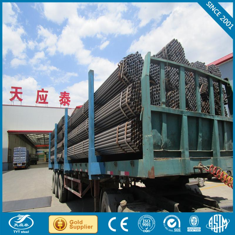 black spiral welded steel pipe for water drainage with low price steel pipe 800mm
