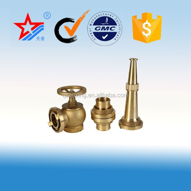 Type fire fighting equipment Fire hose spray Nozzle/Hydrant