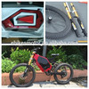 electric super pocket cruiser with fat bike frame