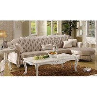 new classic luxury corner sofa