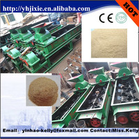 Automatic clay double shaft mixer for brick making machine