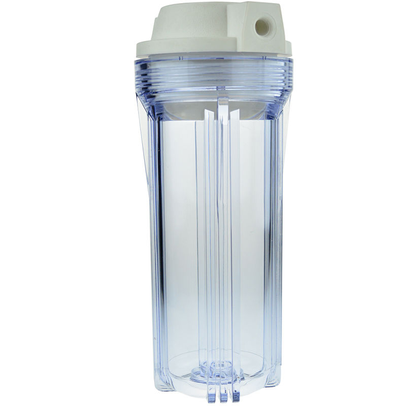 10 inch Clear Filter Cartridge Housing as RO Water Filter Parts