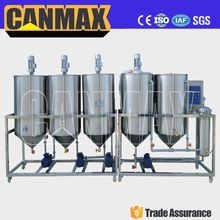 New design vegetable oil refinery/durable oil refining plant/soybean oil refining machine