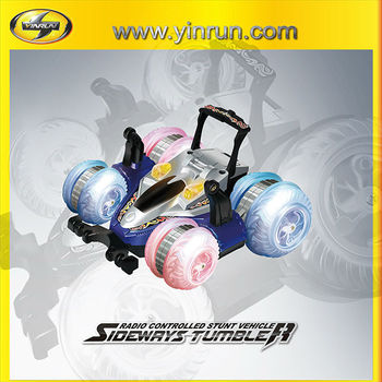 2014 new product sideways spinning tumbler electric car children