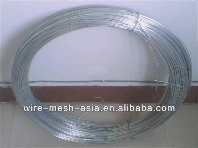 BWG22 Gauge Electro Galvanized iron wire (Bureau Veritas verified)