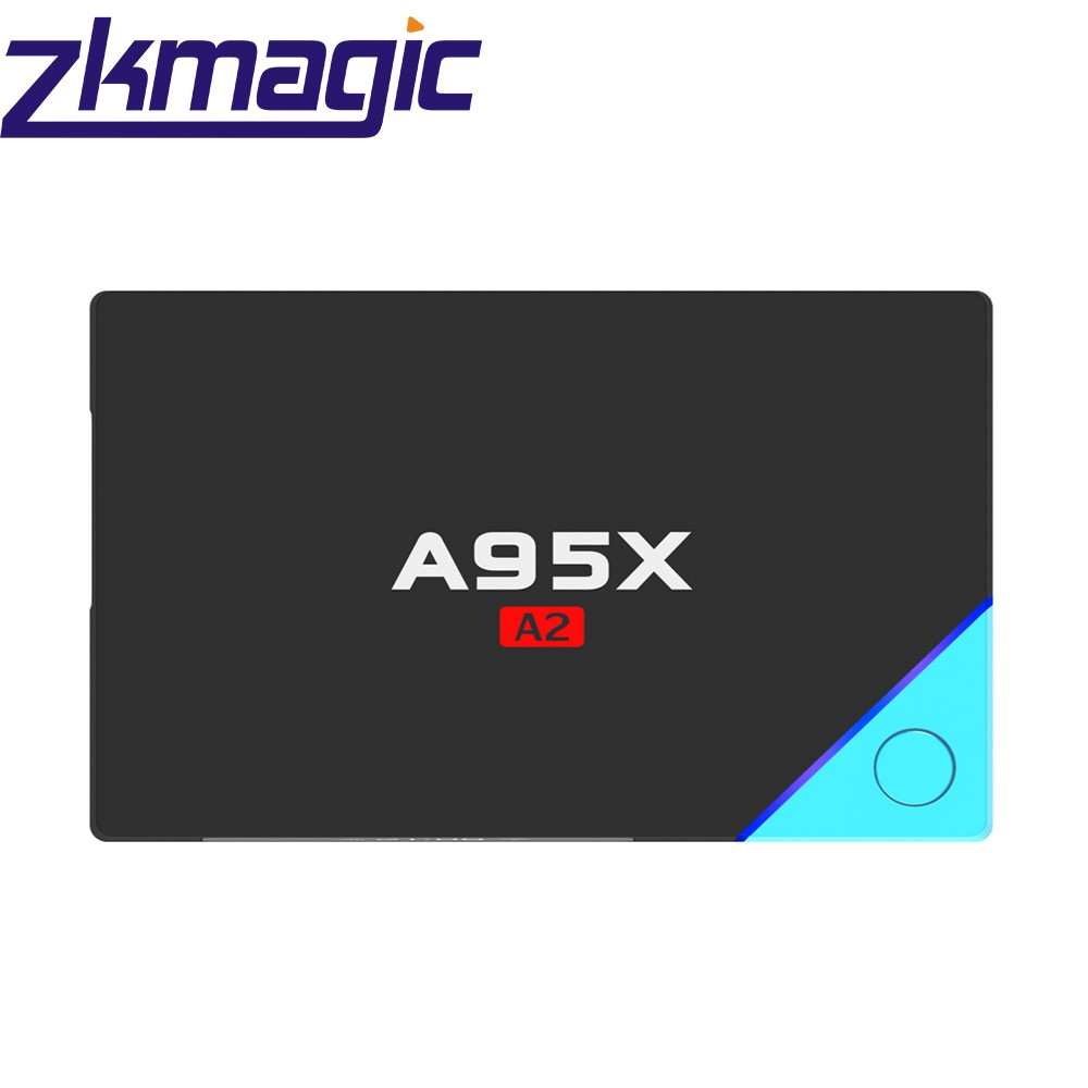 New update A95X A2 Amlogic S912 Octa Core with 2.4G 5G wifi android 6.0 support OEM Smart TV Box