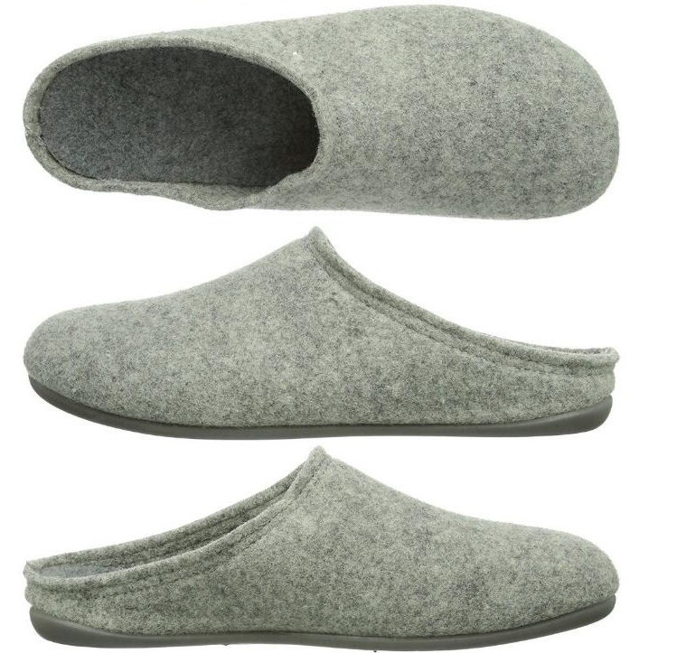 DIY One Piece Handmade Spring Autumn Home Footwear Wool Felt Slipper