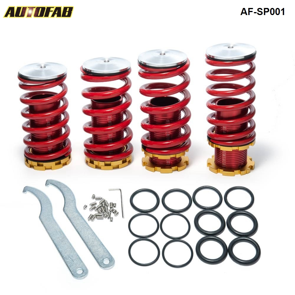 Coilover Springs for <strong>Honda</strong> 88-00 Red available and The <strong>other</strong> color need to make by order AF-SP001