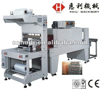 sleeve wrapping and shrink packing machine