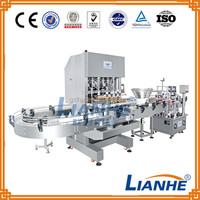 6 Filling Heads Filling Machine Capping