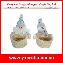 Christmas basket (ZY13L276-1-2 17CM) best selling christmas items christmas gift decoration